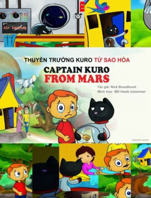 Captain Kuro From Mars: Thuyền Trưởng Kuro Từ Sao Hỏa, Nick Broadhurst