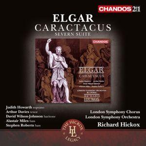 Caractacus Op.35/Severn Suite Op.87, Howarth, Davies, Miles, Hickox, Lso & Chorus
