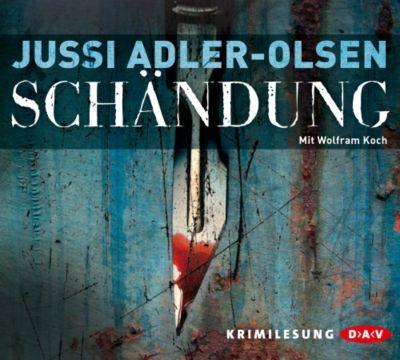 Carl Mørck. Sonderdezernat Q Band 2: Schändung (6 Audio-CDs), Jussi Adler-Olsen