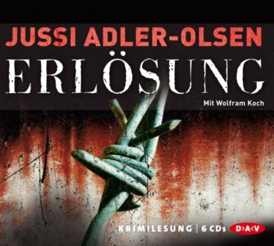 Carl Mørck. Sonderdezernat Q Band 3: Erlösung (6 Audio-CDs), Jussi Adler-Olsen