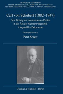 Carl von Schubert (1882-1947)