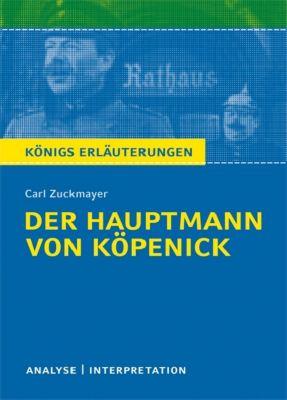 Carl Zuckmayer 'Der Hauptmann von Köpenick', Carl Zuckmayer