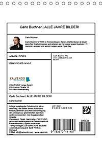Carlo Büchner ALLE JAHRE BILDER! (Tischkalender 2019 DIN A5 hoch) - Produktdetailbild 7