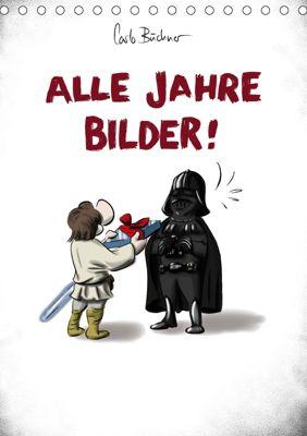 Carlo Büchner ALLE JAHRE BILDER! (Tischkalender 2019 DIN A5 hoch), Carlo Büchner
