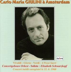 Carlo Maria Giulini In Amsterdam, Giulini, Schwarzkopf, Boeze, Concertgebouw Orkest