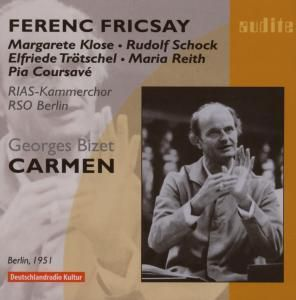 Carmen (Az/Deutsch), Fricsay, Klose, Schock, Rsob