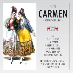 Carmen (Ga), Stevens, The Robert Shaw Chorale, F. Reiner, Rcavso