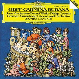 Carmina Burana, Anderson, Weikl, J. Levine, Cso