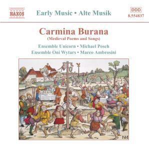 Carmina Burana, Ensemble Unicorn, Oni Wytars
