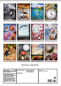 Carpe diem- Lebensfreude (Wandkalender 2019 DIN A2 hoch) - Produktdetailbild 13