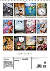 Carpe diem- Lebensfreude (Wandkalender 2019 DIN A3 hoch) - Produktdetailbild 13