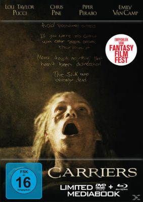 Carriers Limited Edition, Chris Pine, Piper Perabo, Lou Taylor Pucci