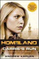Carrie's Run, Andrew Kaplan