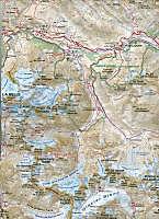 Carte de randonnées Alpes Écrins; Hiking Map Alps Écrins - Produktdetailbild 1