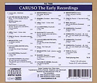 Caruso The Early Recordings - Produktdetailbild 1