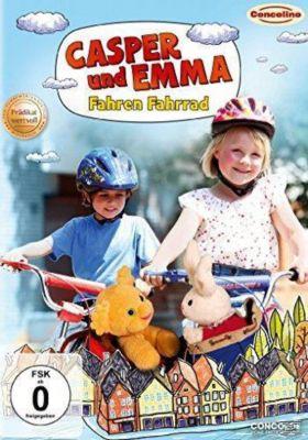 Casper und Emma fahren Fahrrad, Nora Amundsen, Elias S¢vold-Simonsen