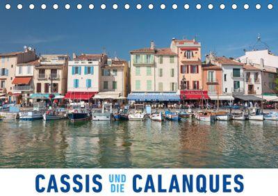 Cassis und die Calanques (Tischkalender 2019 DIN A5 quer), Martin Ristl
