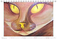 Catrin Mansel - Gemalte Tierporträts (Tischkalender 2019 DIN A5 quer) - Produktdetailbild 2