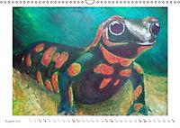 Catrin Mansel - Gemalte Tierporträts (Wandkalender 2019 DIN A3 quer) - Produktdetailbild 8