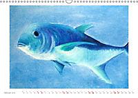 Catrin Mansel - Gemalte Tierporträts (Wandkalender 2019 DIN A3 quer) - Produktdetailbild 1