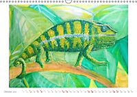 Catrin Mansel - Gemalte Tierporträts (Wandkalender 2019 DIN A3 quer) - Produktdetailbild 10