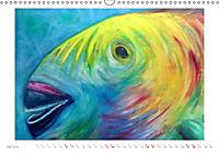 Catrin Mansel - Gemalte Tierporträts (Wandkalender 2019 DIN A3 quer) - Produktdetailbild 7