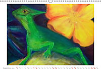Catrin Mansel - Gemalte Tierporträts (Wandkalender 2019 DIN A3 quer) - Produktdetailbild 9