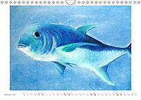 Catrin Mansel - Gemalte Tierporträts (Wandkalender 2019 DIN A4 quer) - Produktdetailbild 1