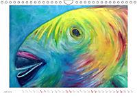 Catrin Mansel - Gemalte Tierporträts (Wandkalender 2019 DIN A4 quer) - Produktdetailbild 7