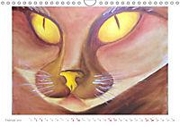 Catrin Mansel - Gemalte Tierporträts (Wandkalender 2019 DIN A4 quer) - Produktdetailbild 2