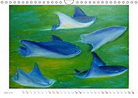 Catrin Mansel - Gemalte Tierporträts (Wandkalender 2019 DIN A4 quer) - Produktdetailbild 6