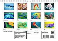 Catrin Mansel - Gemalte Tierporträts (Wandkalender 2019 DIN A4 quer) - Produktdetailbild 13