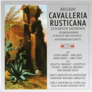 Cavalleria Rusticana, Chor & Orch.D.Bayer.Rundfunks, C