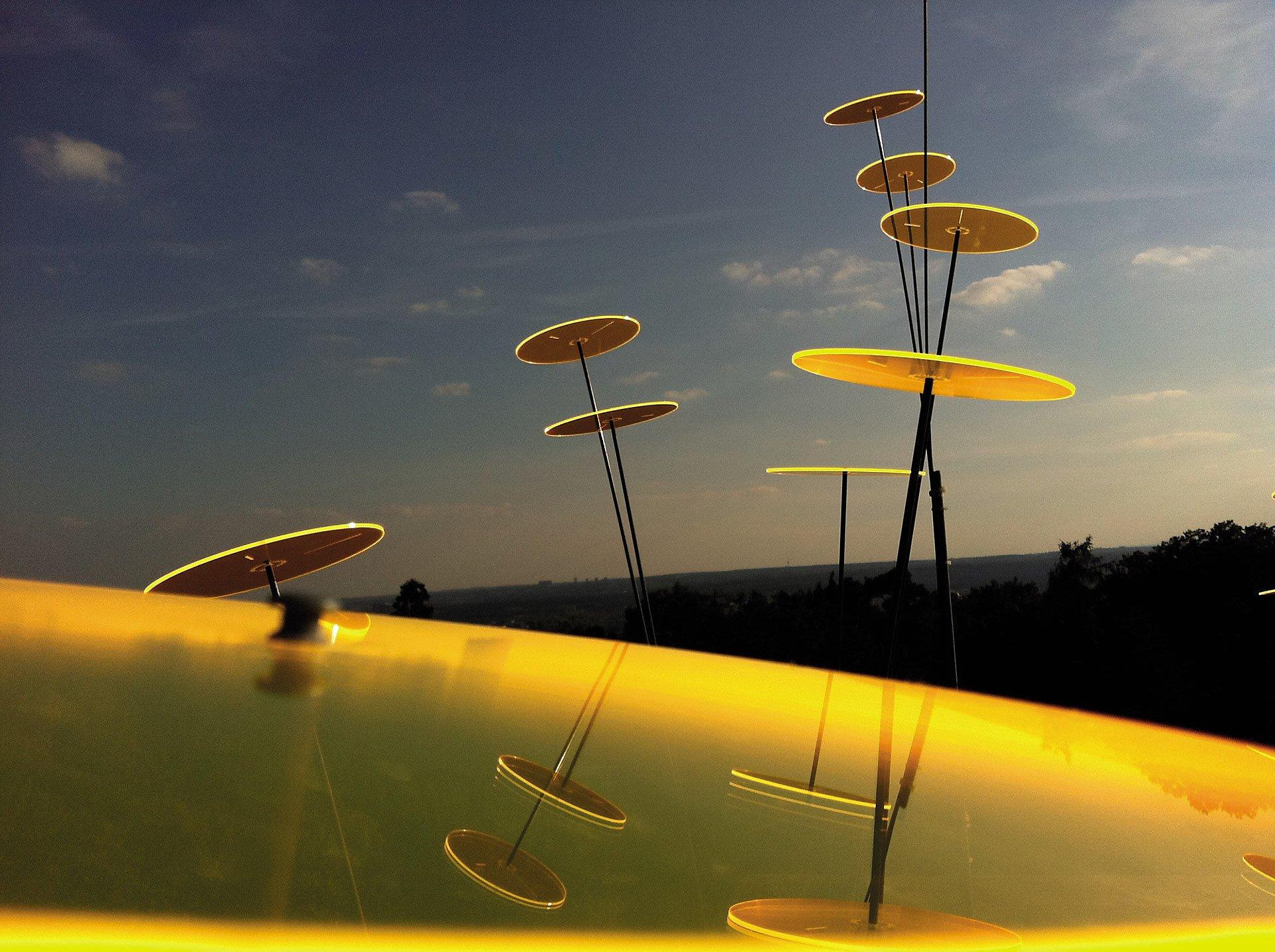 Cazador Del Sol 3 Sonnenfänger 15cm Durchmesser Gelb Weltbildde