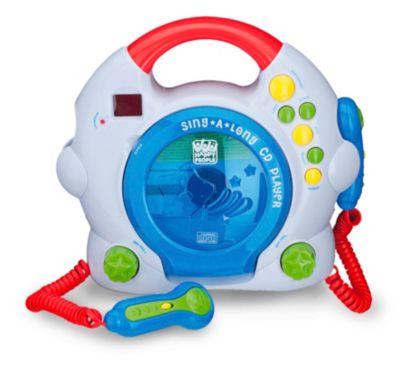 CD-Player mit 2 Mikrofonen