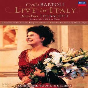 Cecilia Bartoli Live in Italy, Cecilia Bartoli, James Levine