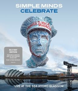 Celebrate-Live At The Sse Hydro Glasgow (Blu-Ray, Simple Minds