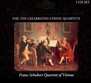 Celebrated String Quartets, Franz Schubert Quartett Wien