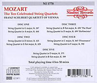 Celebrated String Quartets - Produktdetailbild 1