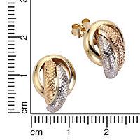 Celesta Gold Ohrstecker 375/- Gelbgold - Produktdetailbild 1