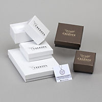 Celesta Gold Ring 375/- Gelbgold Zirkonia (Größe: 058 (18,5)) - Produktdetailbild 2