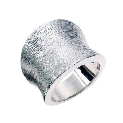 Celesta Silber Ring mattiert (Größe: 017 (53,5))