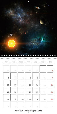 Celestial lights (Wall Calendar 2019 300 × 300 mm Square) - Produktdetailbild 6