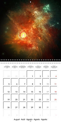 Celestial lights (Wall Calendar 2019 300 × 300 mm Square) - Produktdetailbild 8
