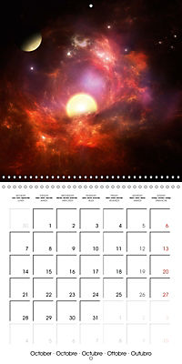 Celestial lights (Wall Calendar 2019 300 × 300 mm Square) - Produktdetailbild 10