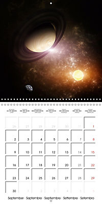 Celestial lights (Wall Calendar 2019 300 × 300 mm Square) - Produktdetailbild 9