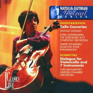 Cello Concertos 1 & 2/dialogue, Natalia Gutman, Kondrashin, Ussr Radio Sym.Orch.