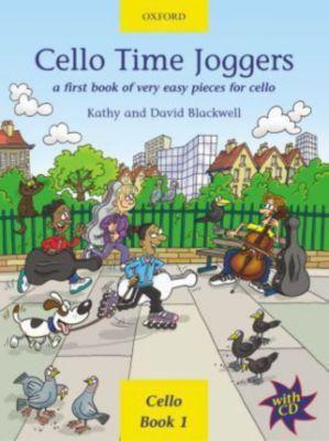 Cello Time Joggers, w. Audio-CD, Kathy Blackwell, David Blackwell