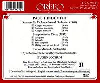 Cellokonzert (1940)/Symphonische Tänze (1937) - Produktdetailbild 1