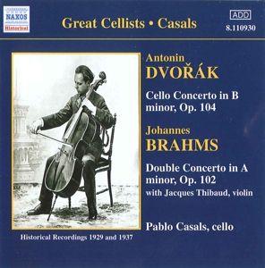 Cellokonzert/Doppelkonzert, Pablo Casals, Szell, Cortot, Thib